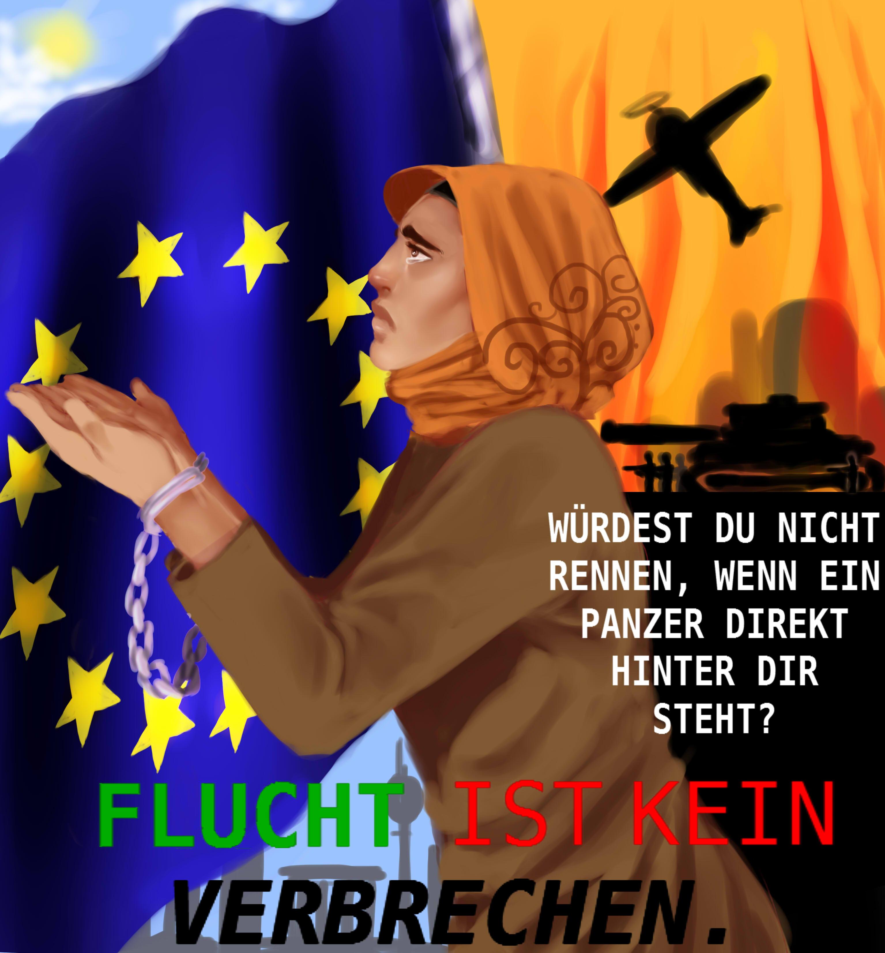 Jenny Okafor, Flucht-ist-kein-Verbrechen